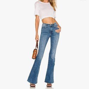 Vintage Jordache—High-Waist Flare Jeans, Med Wash
